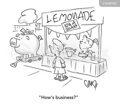 small company cartoon