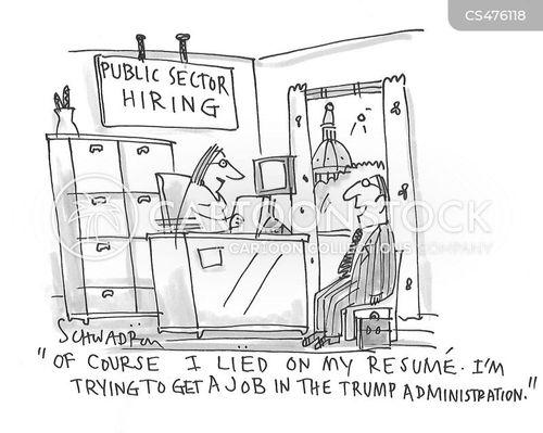 public sector jobs cartoon
