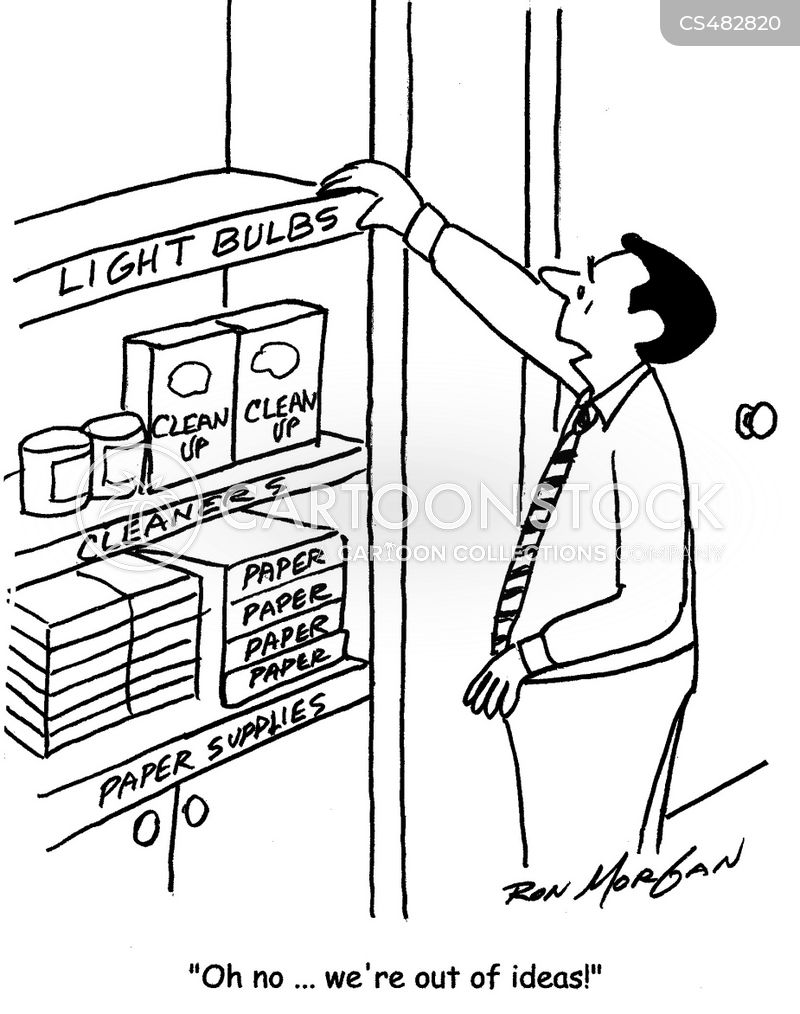 supply closets cartoon