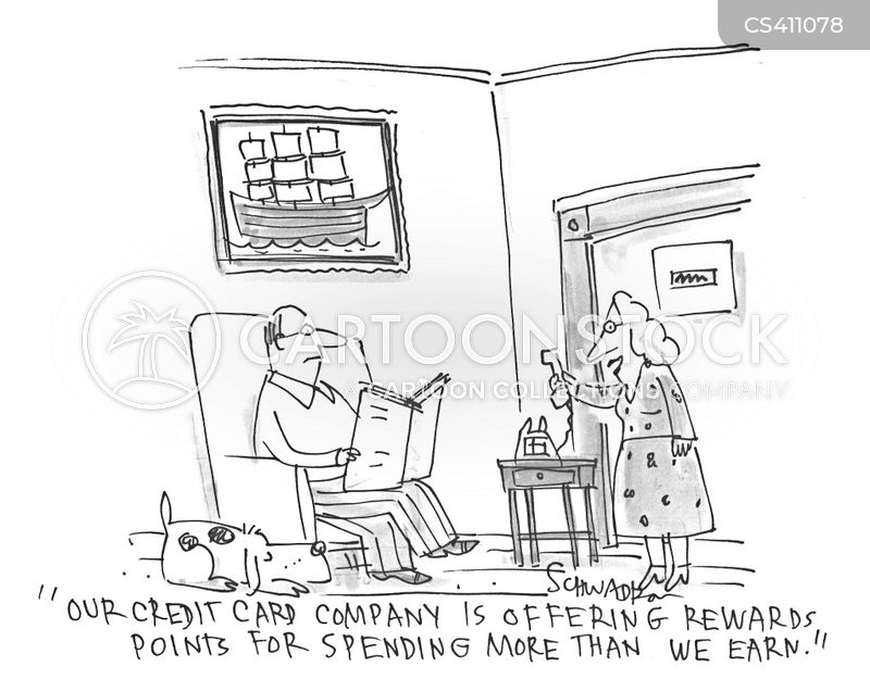 living within your means cartoon