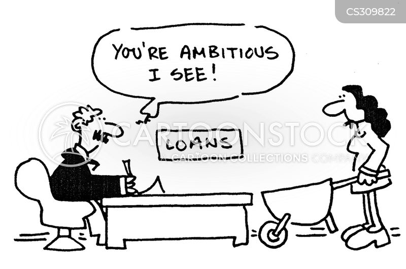lending agency cartoon