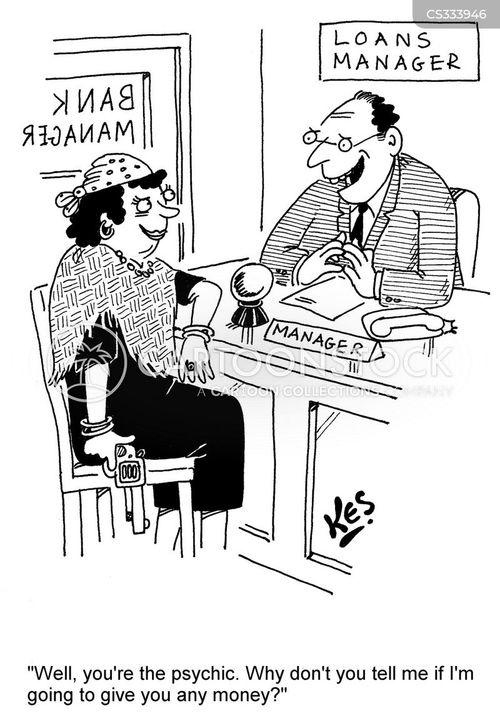 pyschics cartoon