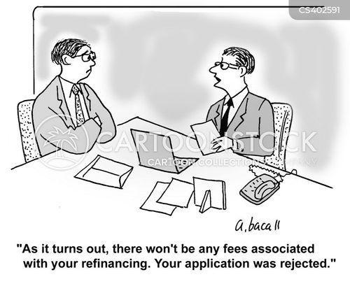 refinance cartoon