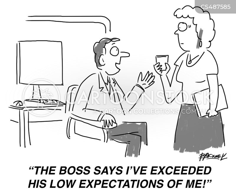 low expectation cartoon