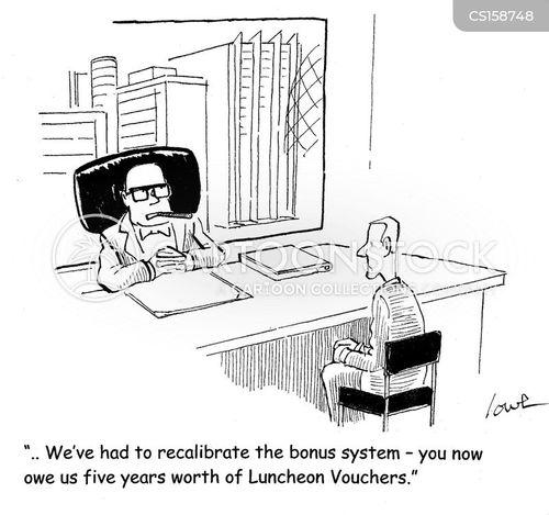 luncheon voucher cartoons and comics