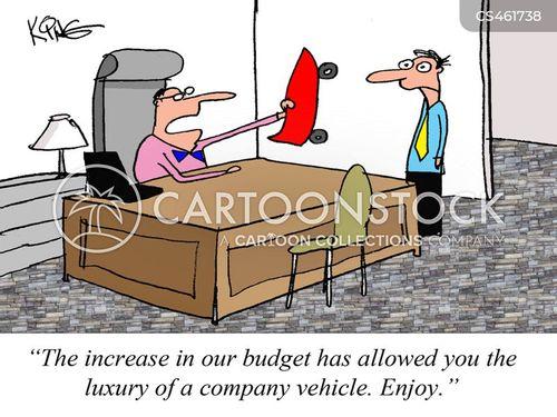 corporate perks cartoon