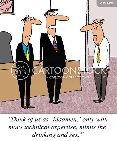 advertising industry cartoon