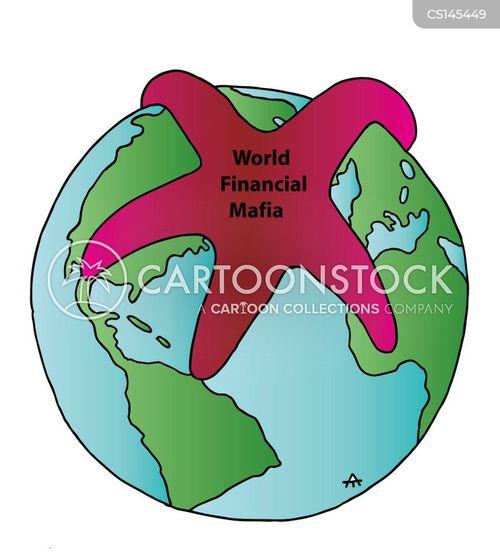 organised crimes cartoon