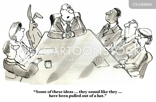 business ideas cartoon