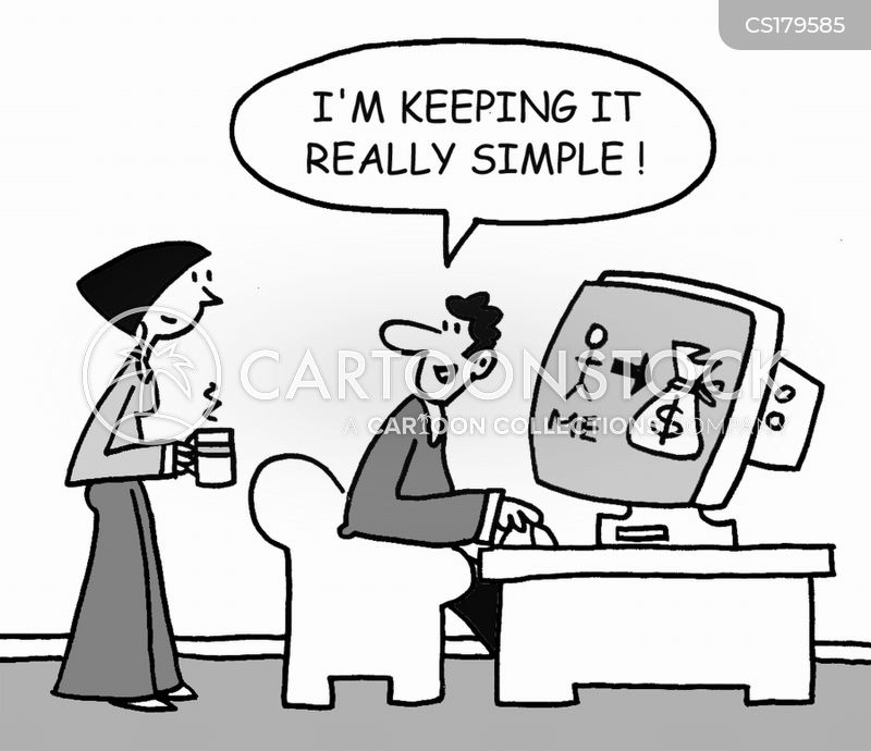 keep it simple cartoon