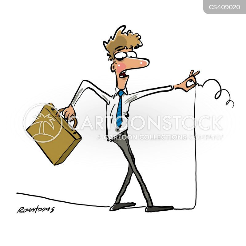 new business venture cartoon