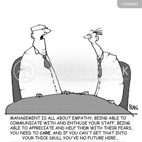 managemant cartoon