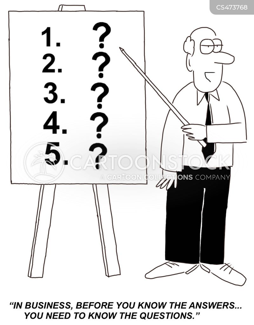 business planning cartoon