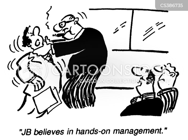 management consultancy cartoon