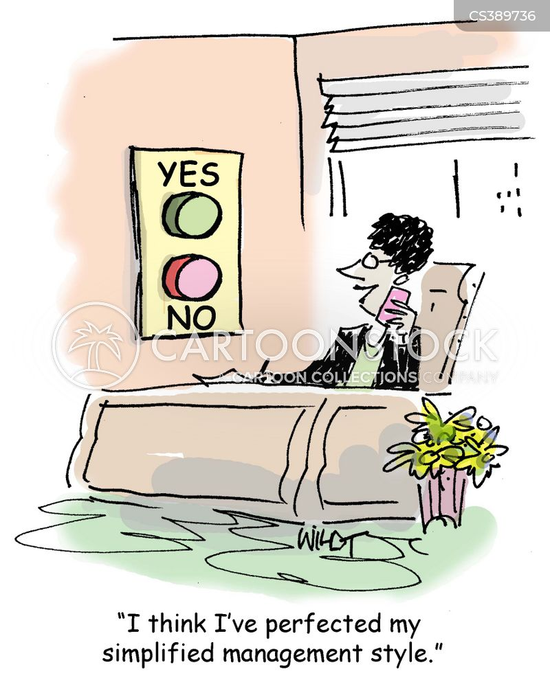 yes button cartoon