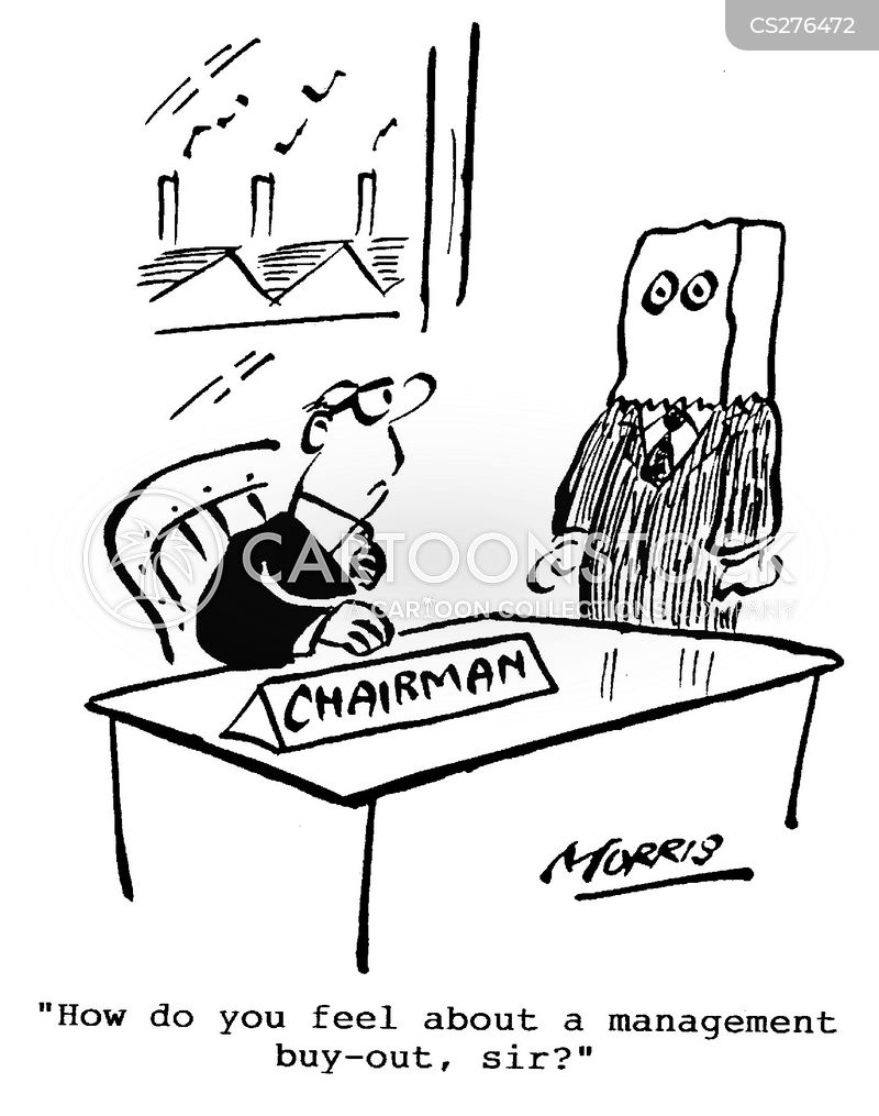 management buy out cartoon