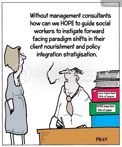 management jargon cartoon