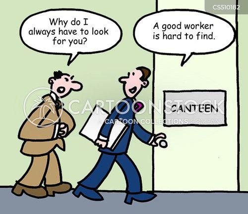 one liner cartoon