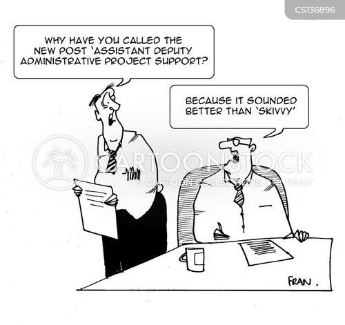 job adverts cartoon