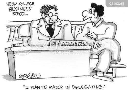 business degree cartoon