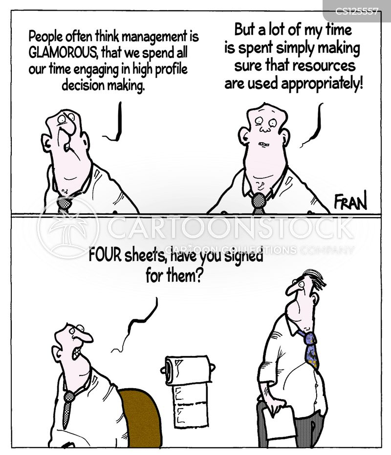 glamorous jobs cartoon
