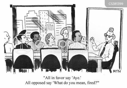 mangement cartoon