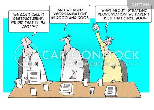 restructuring cartoon