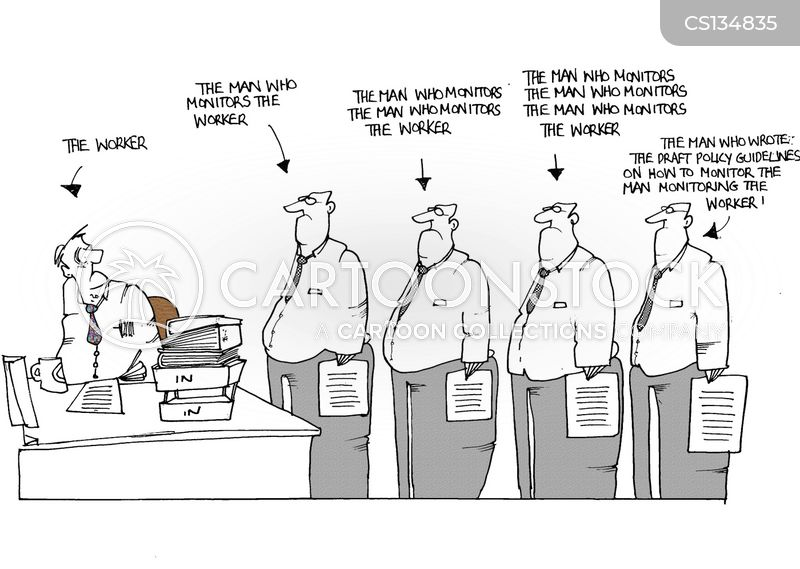 monitors cartoon