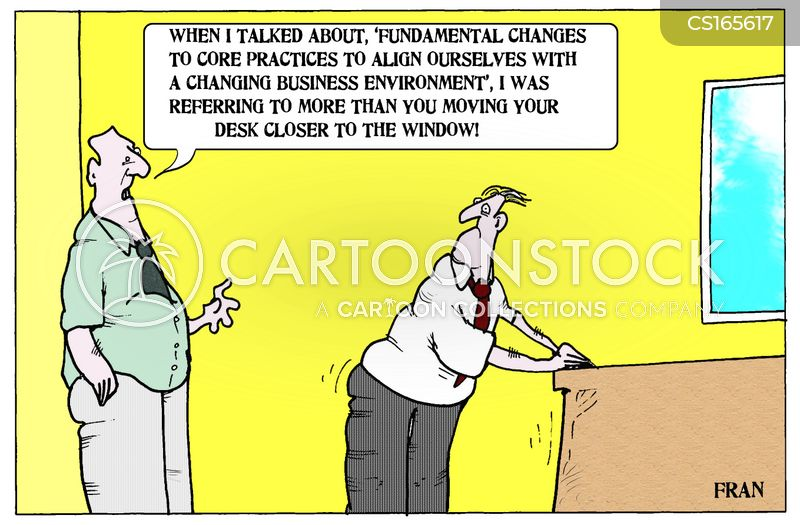 management styles cartoon