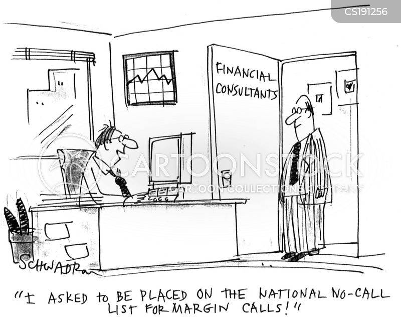 financial consultants cartoon