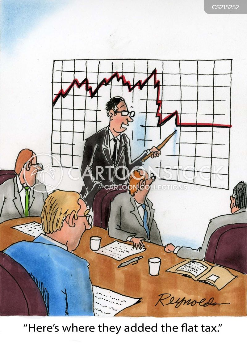 tax rates cartoon