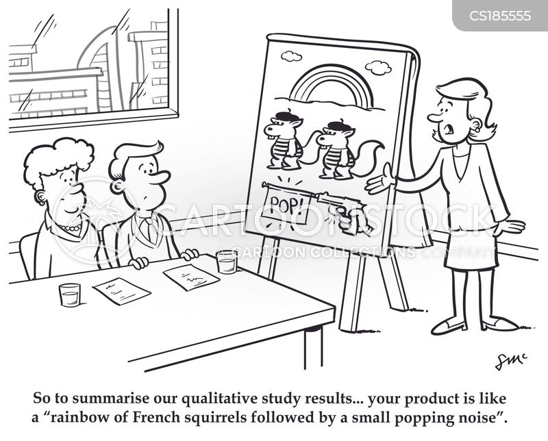 Qualitative Data Analysis Cartoon Qualitative Cartoons a...