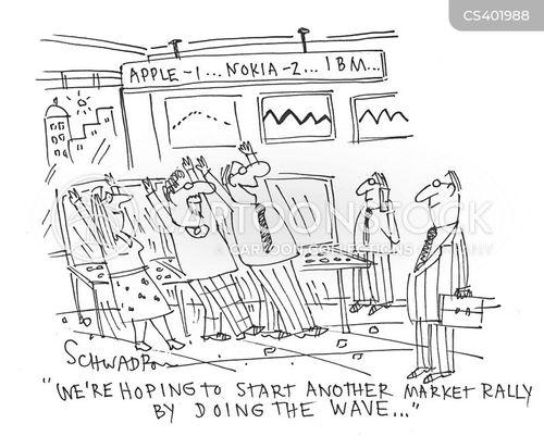 technology companies cartoon