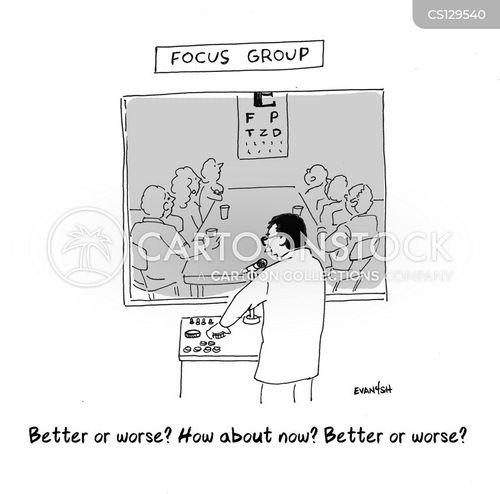 focus groups cartoon