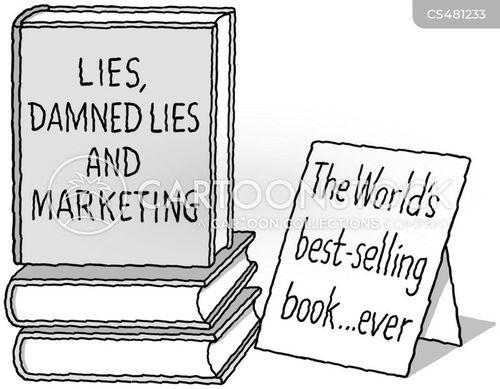 power of advertising cartoon