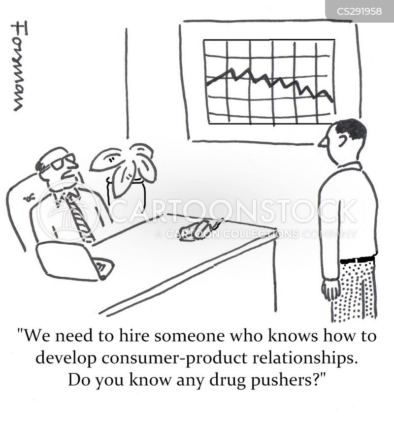 drug pushers cartoon