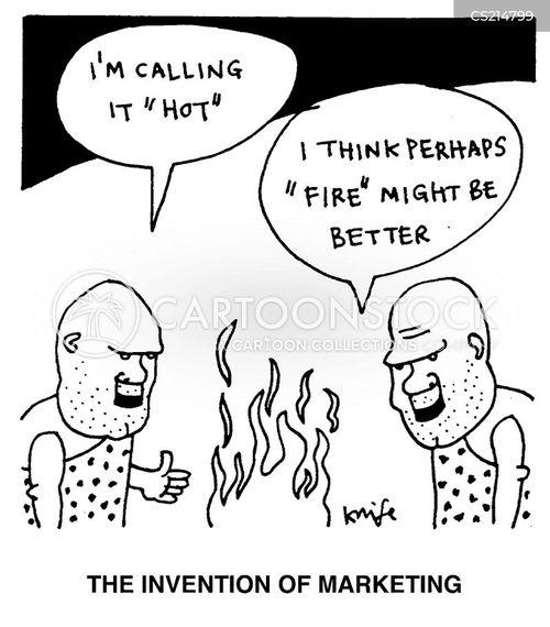 advertizing cartoon