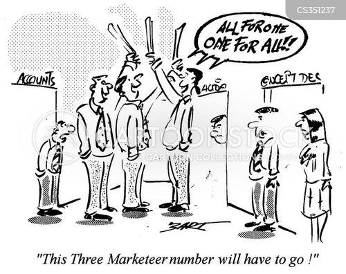 marketeers cartoon