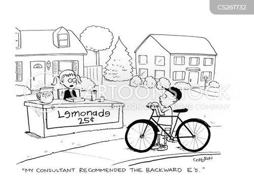 marketing consultants cartoon