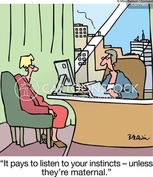 instinct cartoon