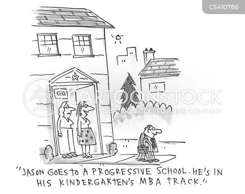 school curriculum cartoon