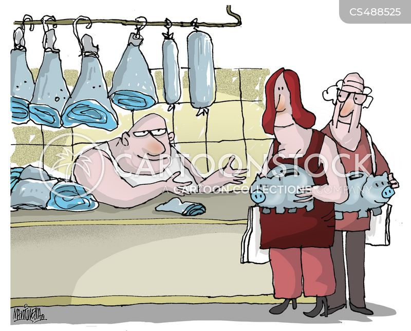 meat prices cartoon
