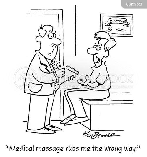 masseuses cartoon