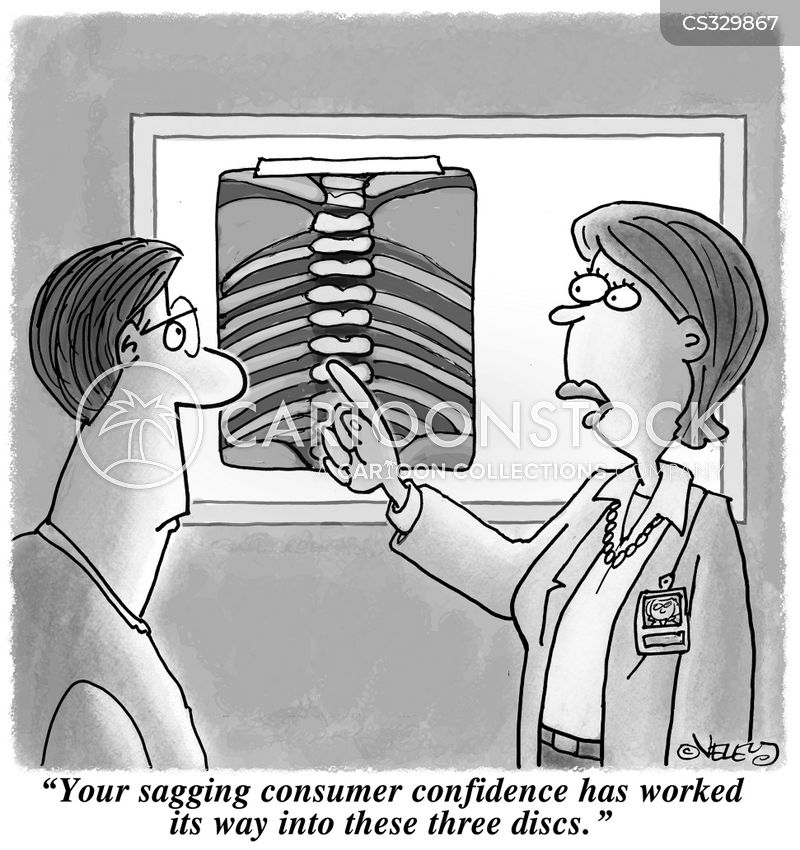 slipped discs cartoon