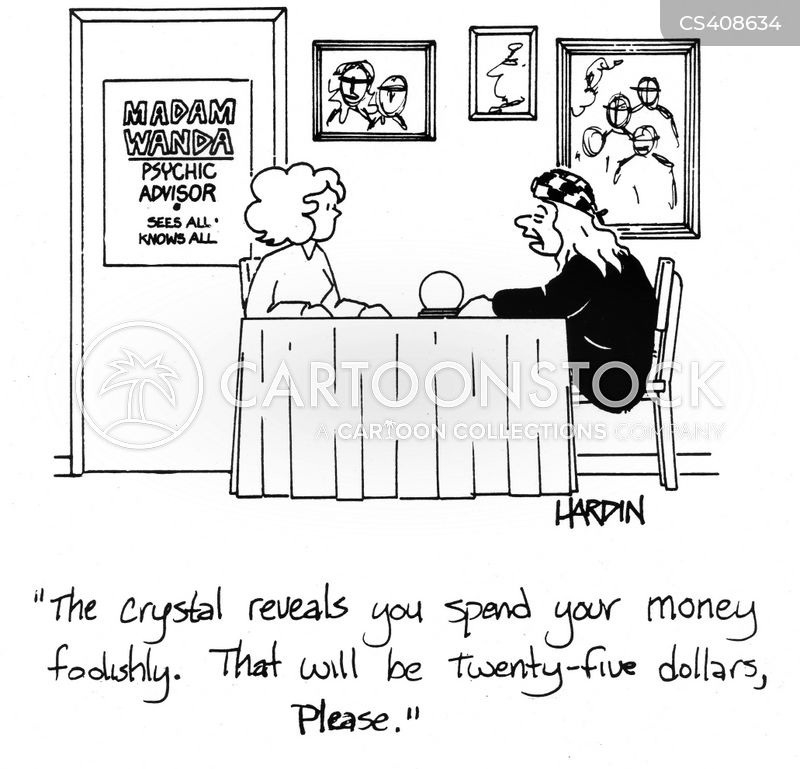 financial sense cartoon