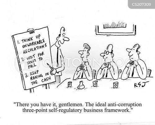 profited cartoon