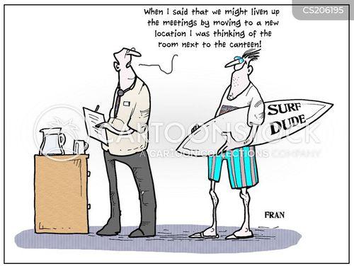 surfboard cartoon