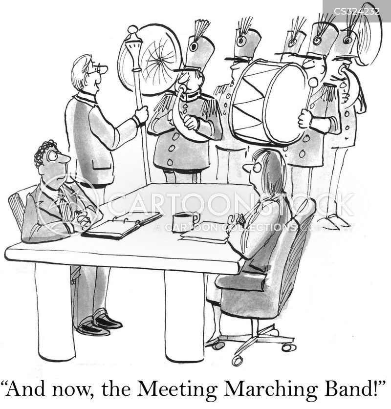 fanfare cartoon