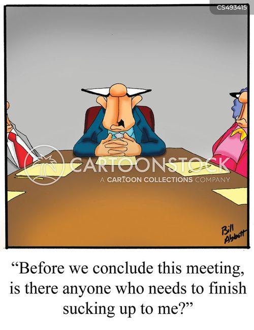 suck-ups cartoon