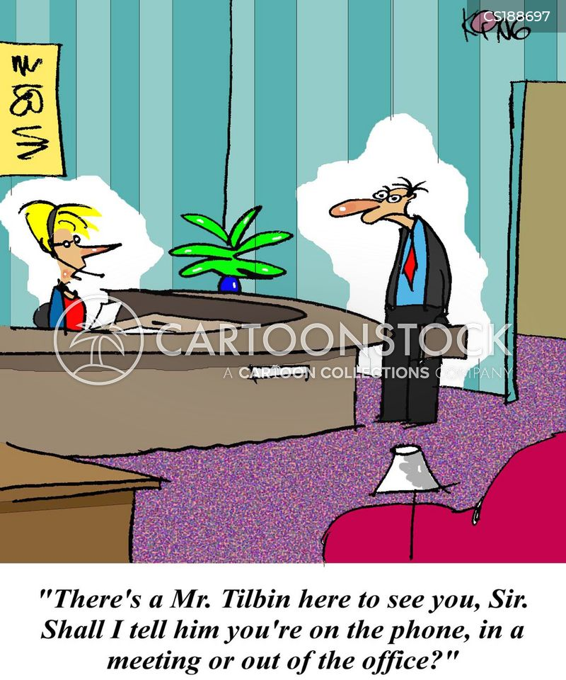 out of the office cartoon